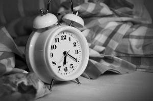 Stand Up Alarm Clock Time Of Sleep Wake Up Bed